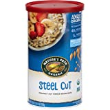 Nature's Path Organic Oats, Steel Cut, 30 Ounce Canister (Pack of 6) (Packaging may vary)