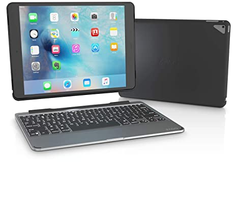 6fd6481f36d ZAGG Slim Book Ultrathin Case, Hinged with Detachable Bluetooth Keyboard  for Apple iPad Pro 9.7