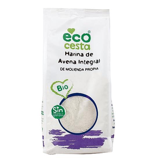 Harinas Ecocesta De Avena Integral Bio Bolsa 500 G
