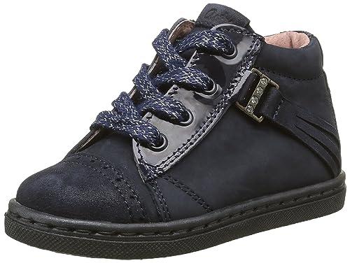 ASTER Sneakers Haut Risette Marine o5AQJe7rq