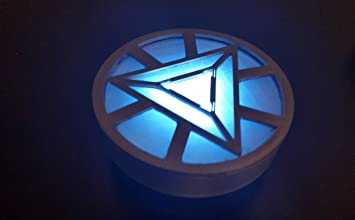 Iron Man Triangular Arc Reactor Wearable Light Up Replica For Costume And  Fancy Dress