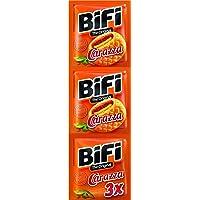 BiFi Carazza Original – Herzhafter Pizzasnack zum Mitnehmen – 3er Pack (3 x 40g)