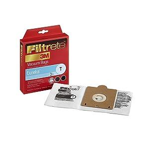 3M Filtrete Eureka T Allergen Vacuum Bag - 3 bags