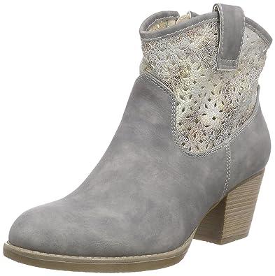Rieker Damen Y1965 Kurzschaft Stiefel, Grau (Cement Antique   40), 39 0aa60e8190