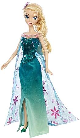 mattel disney la reine des neiges une fte givre elsa fete d - Barbie La Reine Des Neiges