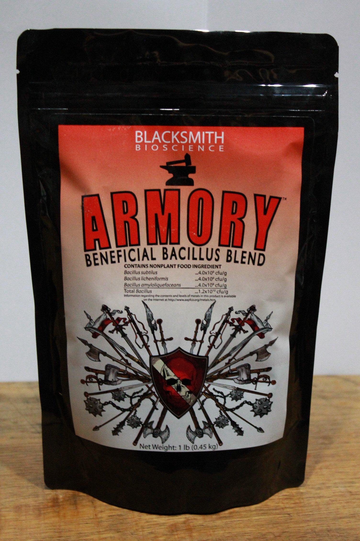 Blacksmith Bioscience Armory Beneficial Bacillus Blend 1 lb bag
