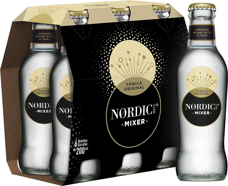 Nordic Mist Tónica Original Botella Vidrio - 200 ml (Pack de 6 ...