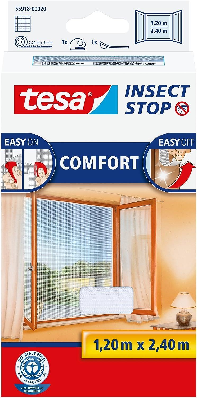tesa 55918 - Control de Moscas, Color Blanco