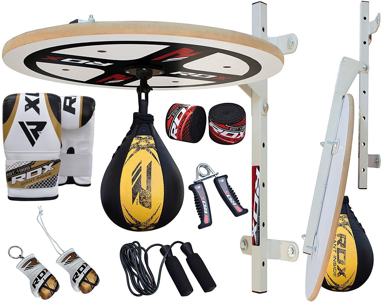 RDX - Kit de entrenamiento de boxeo, 10 piezas, incluye pera de ...