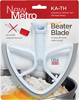 product image for Original Beater Blade for Kitchen Aid 4.5 and 5 Quart Tilt-Head Mixer, , White, Made in USA