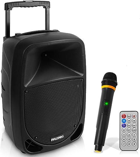Pyle 1000W Portable Bluetooth PA Speaker 10 3