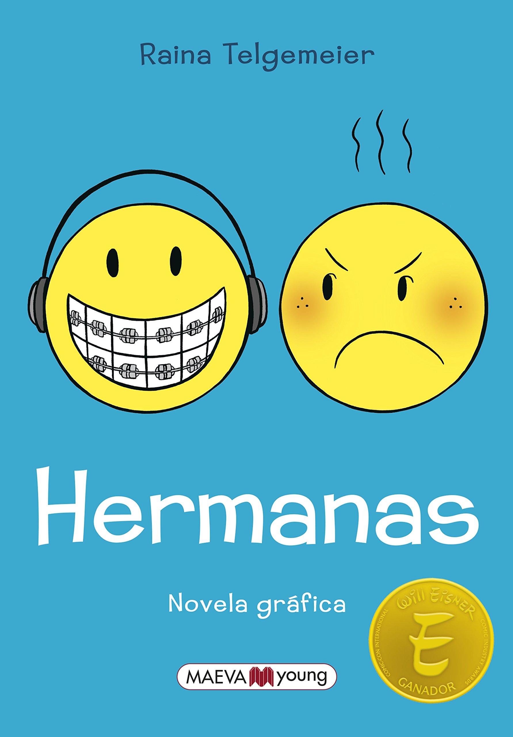 Hermanas (Novela gráfica): Amazon.es: Raina Telgemeier ...