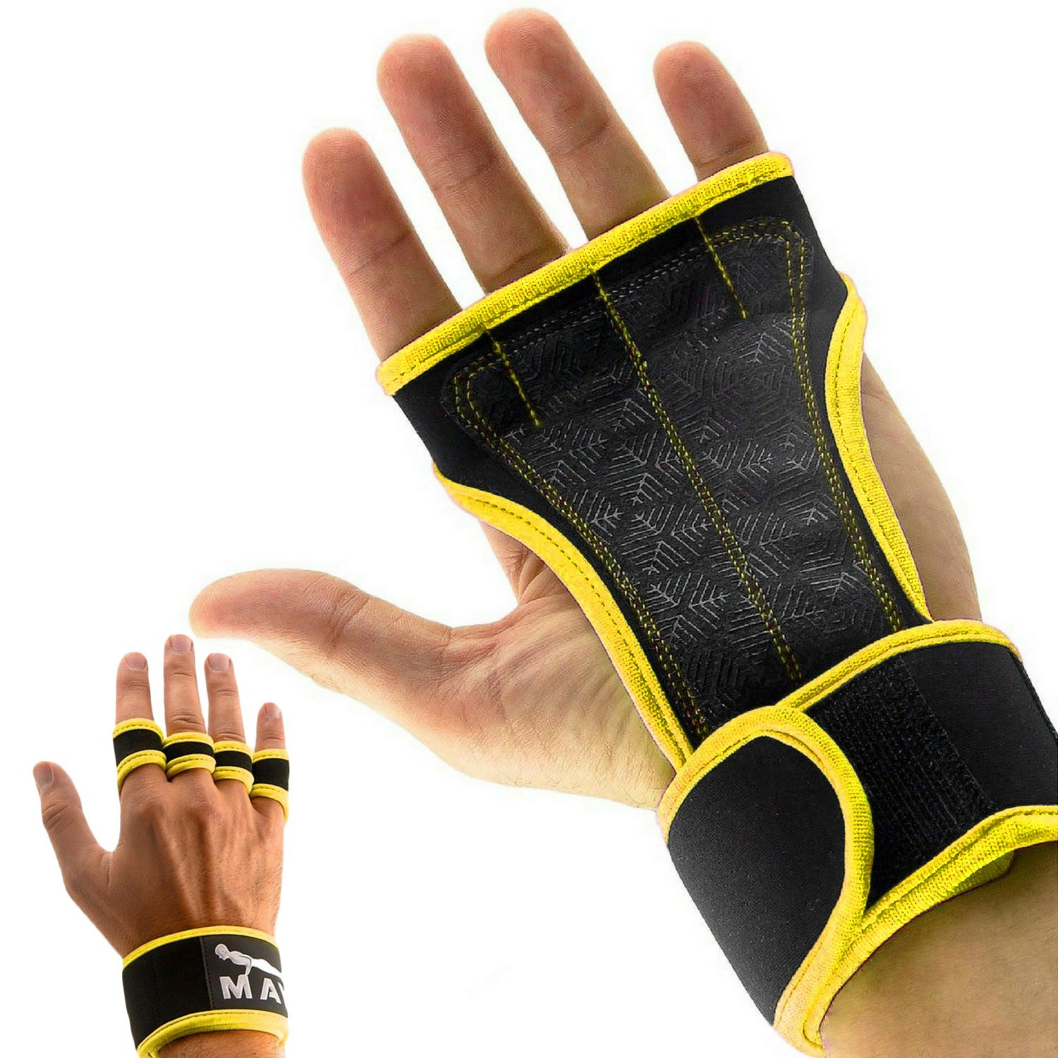 Mava Sports Cross Training Gloves with Wrist Support