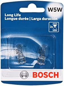 Bosch W5WLL Light Bulb 2 Pack