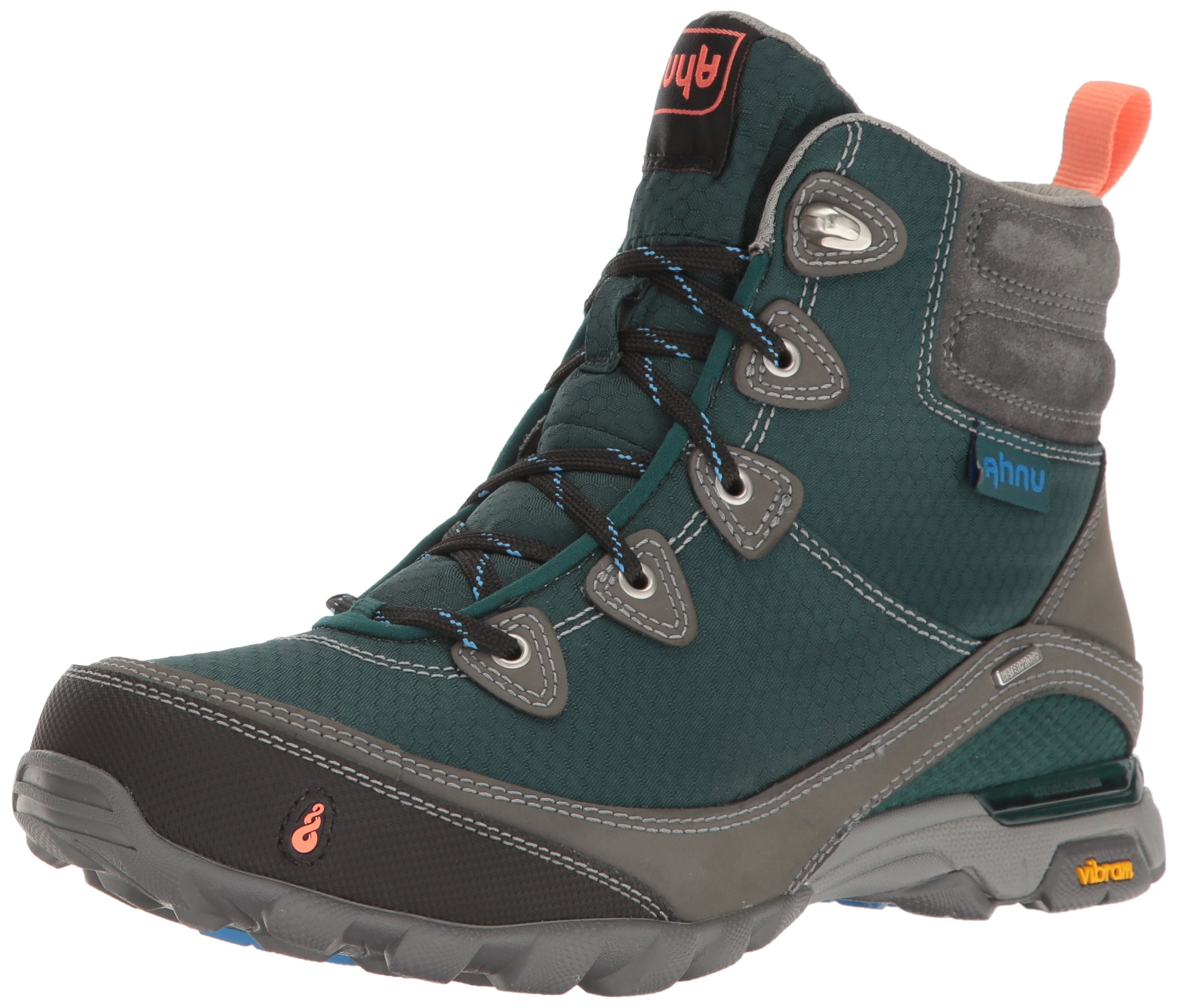 Ahnu Women's W Sugarpine Waterproof Hiking Boot, Muir Green, 9.5 M US