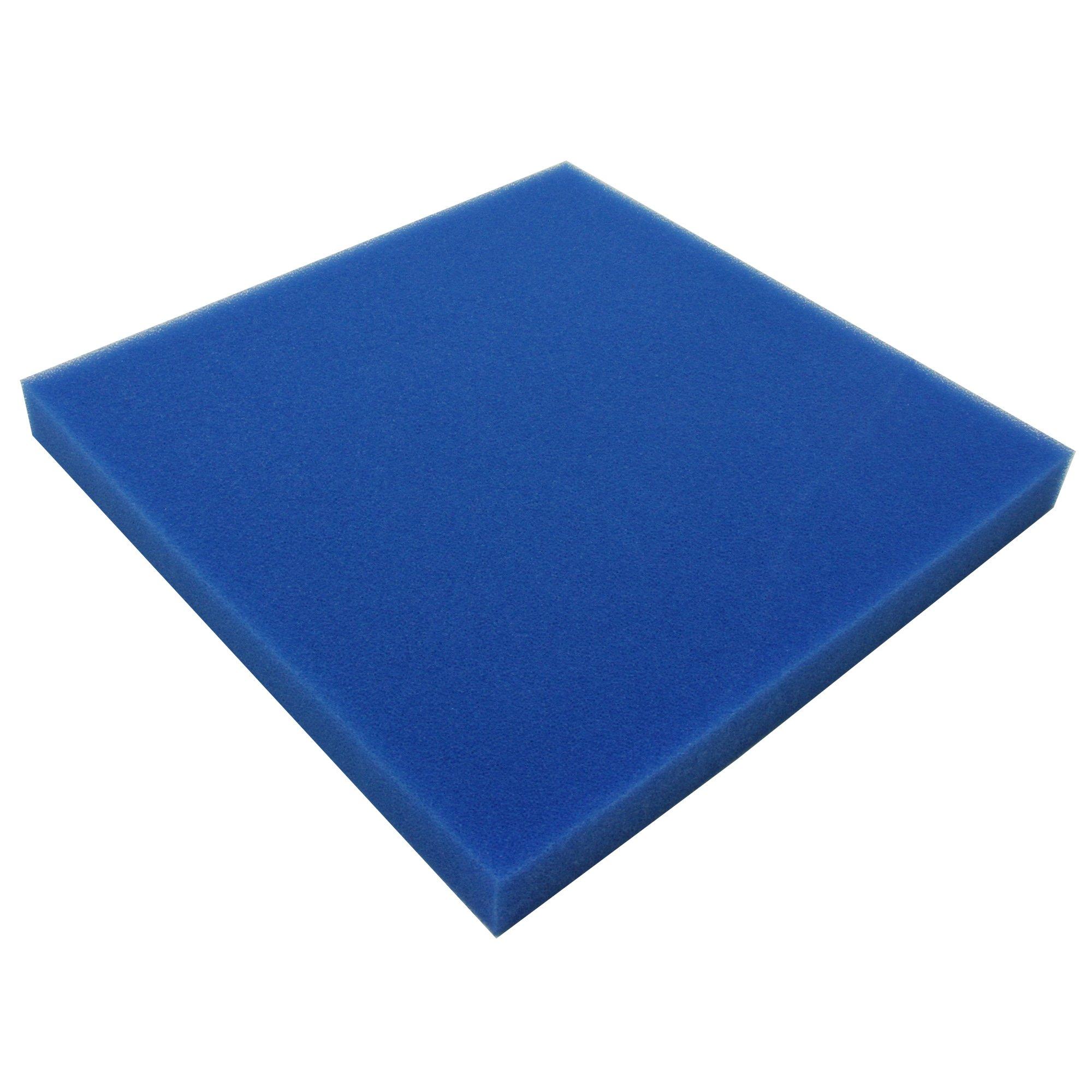 JBL Mousse filtr. bleue maille fine 50*50*5cm, Mousse fine pour filtre, Contre toutes les turbidités de l'eau product image