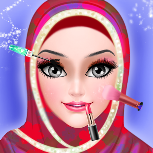 Princess Makeup Tutorial (Hijab WeddingMake Up Salon :Princess wedding salon Girls Games)
