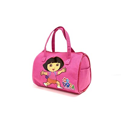 "Ivory Dora Small Hand Bag for Little Girl - 7"" 4"" (Hot Pink): Toys & Games"
