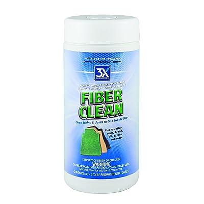 3X:Chemistry 46803 Fiber Clean Spotter Towel - 35-Count Tub: Automotive
