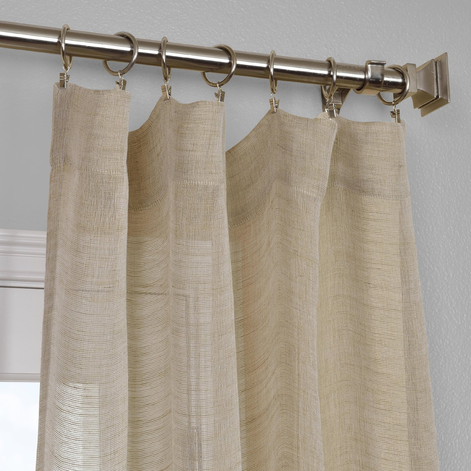 basketweave curtains grommet blackout woven window p curtain drapes textured top carling linen