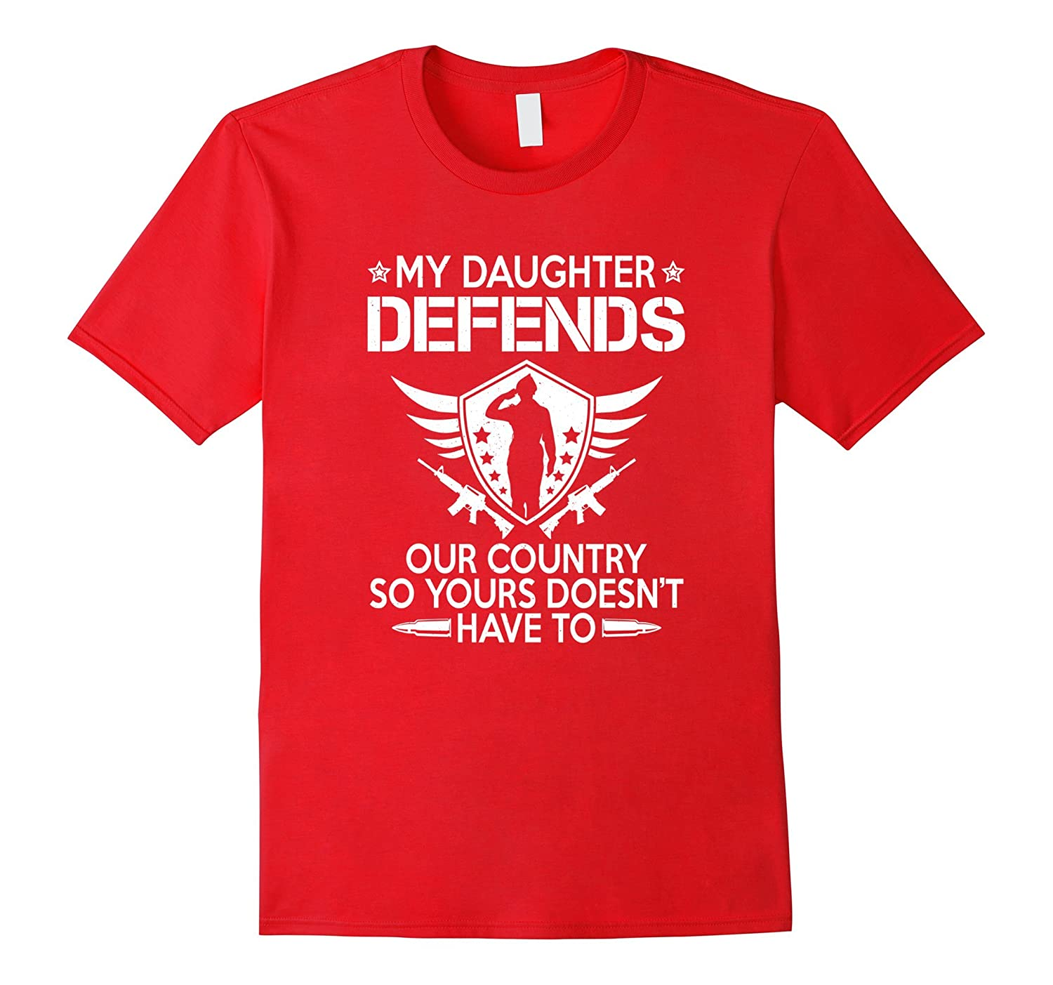 Proud Parent Mother Father Of A Military Service Member Tee-Vaci