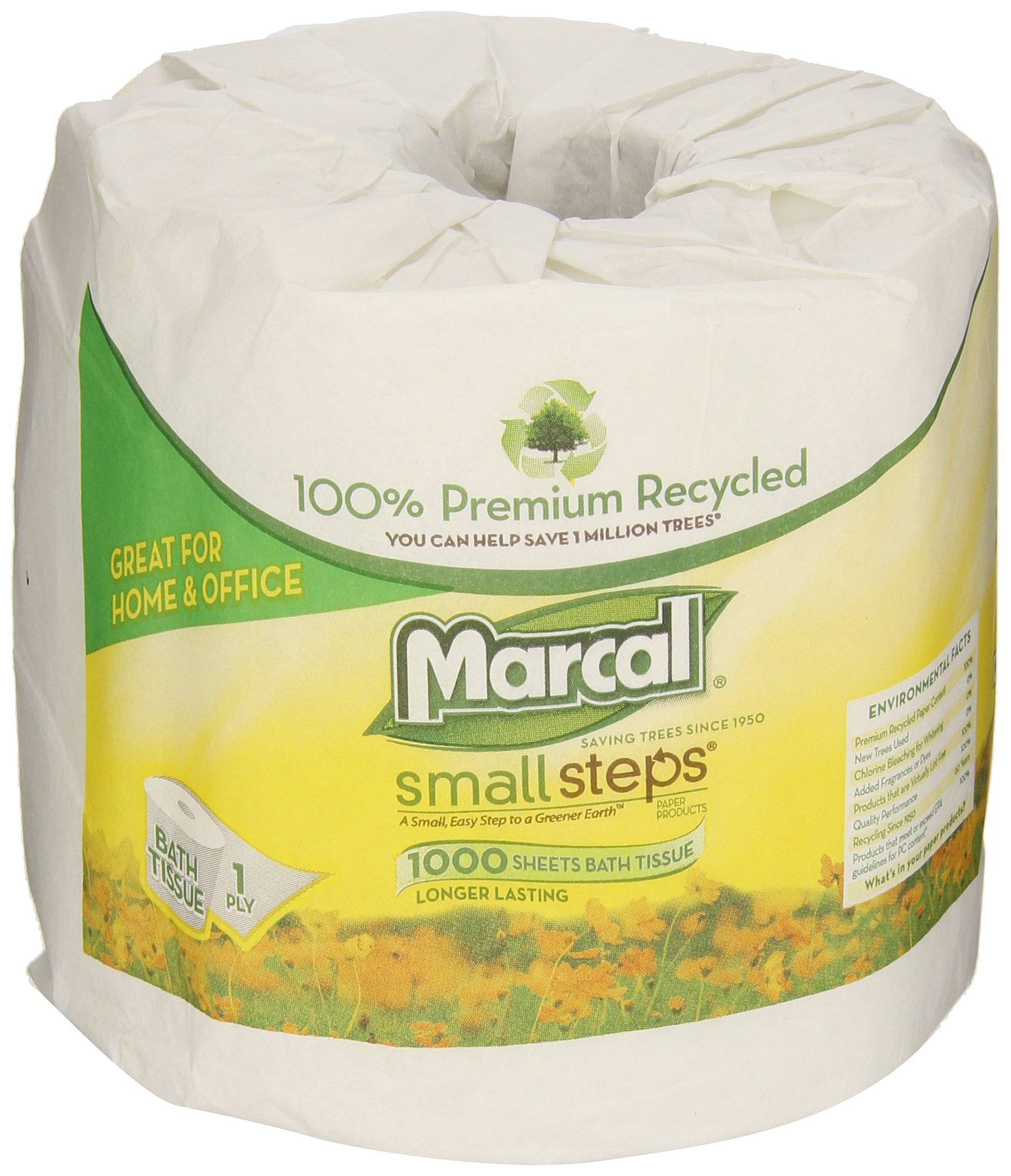 Marcal Toilet Paper 04415 - yellow wrapper