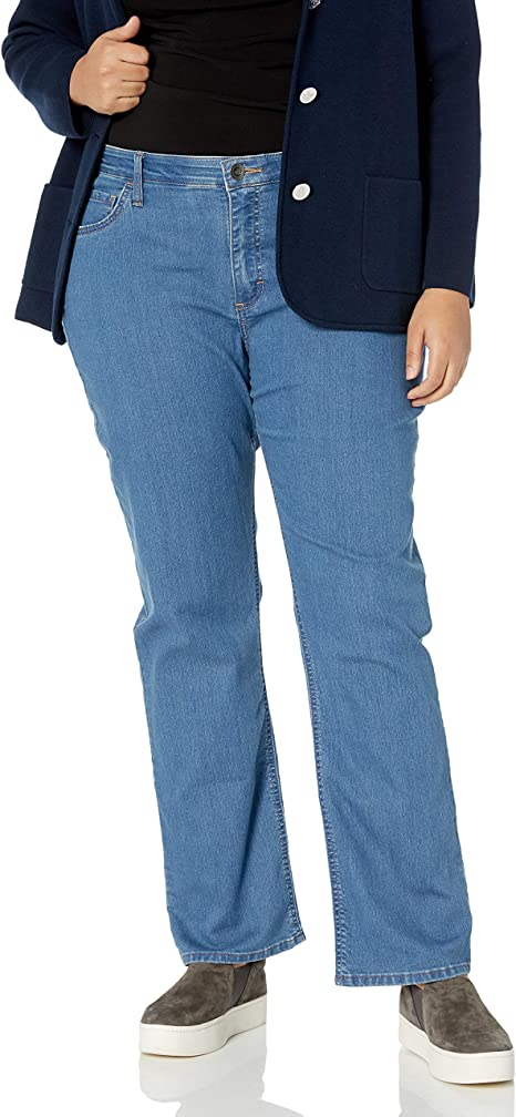 Riders by Lee Indigo Womens Plus Size Midrise Bootcut Jean