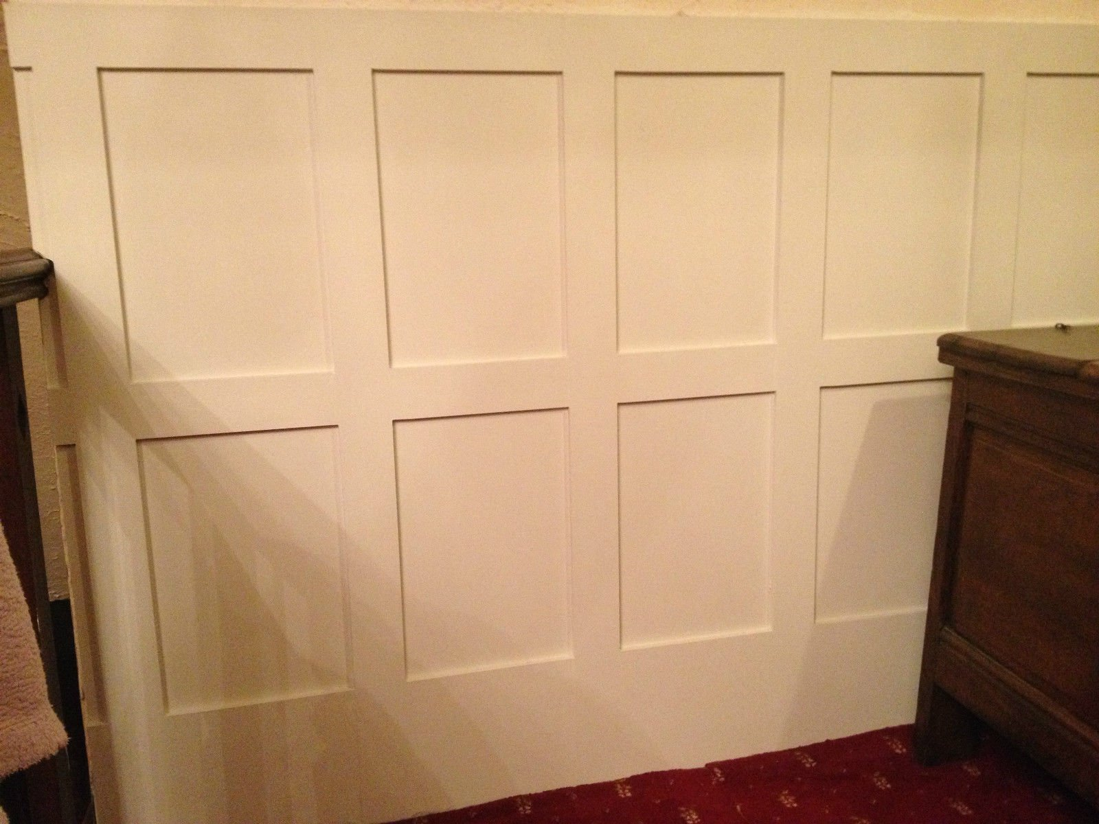 Old Farm Woodcraft Moisture Resistant Wall Panel Cladding Panelling 2.3m Elizabethan Georgian Edwardian and Shaker styles DIY Easy to Install yourself Custom orders taken