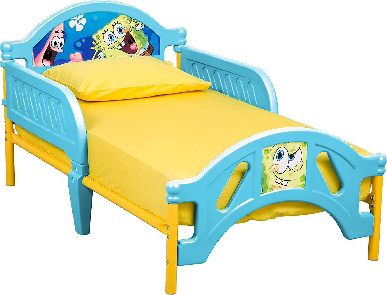 Amazon.com  Delta Children Plastic Toddler Bed Nickelodeon SpongeBob SquarePants  Childrens Furniture  Baby  sc 1 st  Amazon.com & Amazon.com : Delta Children Plastic Toddler Bed Nickelodeon ...