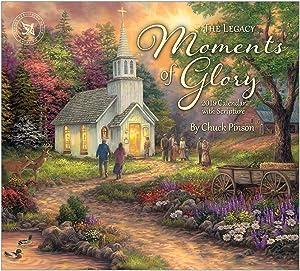 2019 Wall Calendar, Moments of Glory