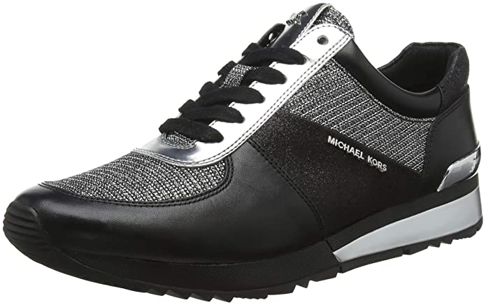 Michael Kors Allie Wrap Trainer, Zapatillas para Mujer: Amazon.es: Zapatos y complementos