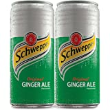 Coca-Cola Schweppes Ginger Ale Can 300Ml (Pack Of 2)