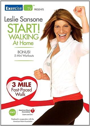 Leslie Sansone Start! Walking At Home 3 Mile Fast Paced Walk