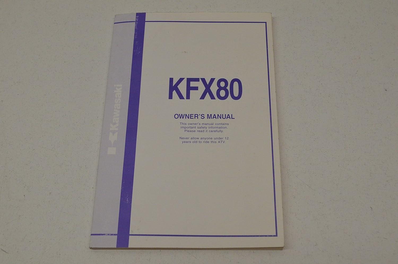 Amazon.com: Kawasaki 99011-40B72-03A KFX80 Owner's Manual KFX80 QTY 1:  Automotive