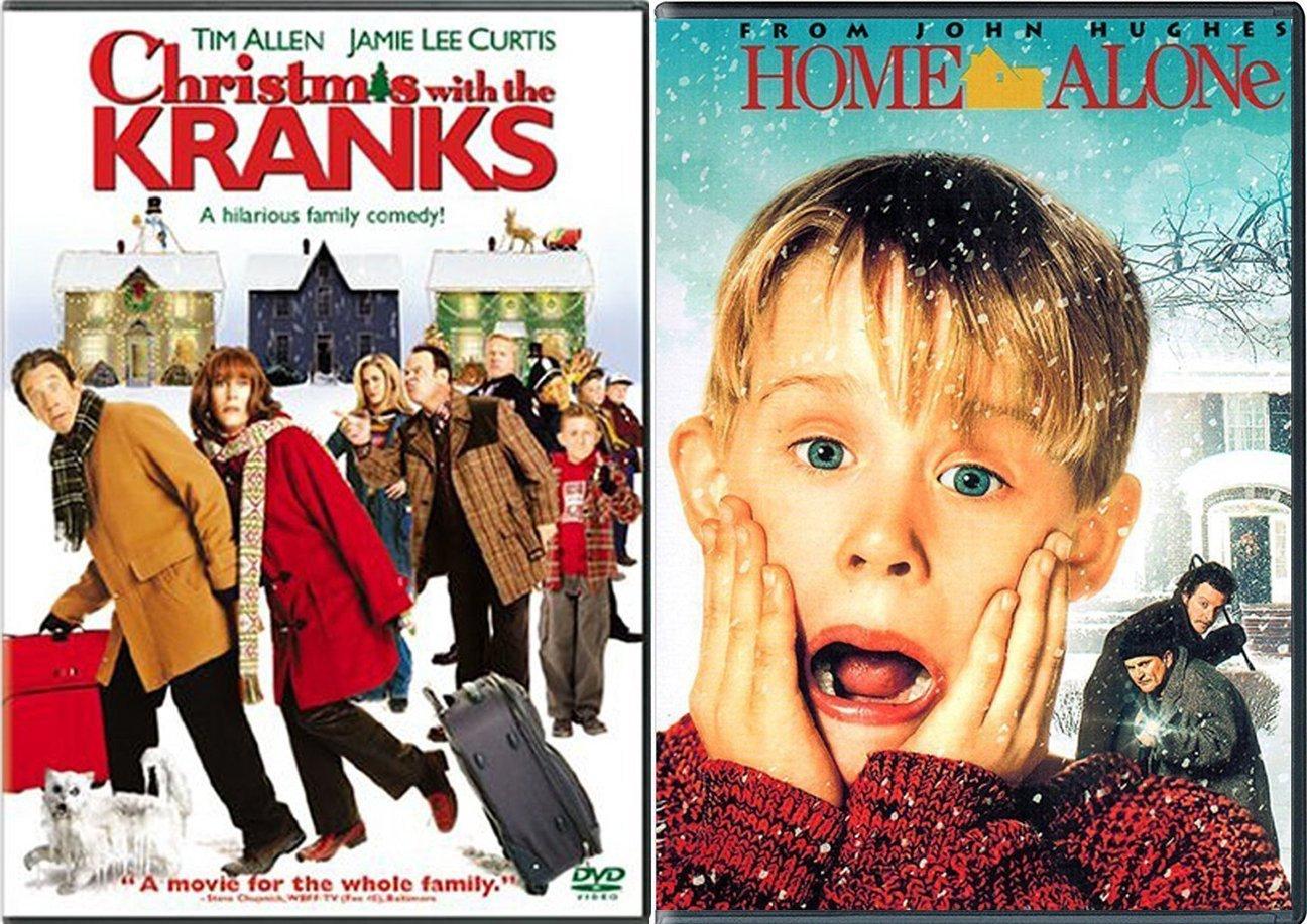 Krank Pack Macaulay Culkin Christmas Home Alone & Christmas with the Kranks DVD Holiday Bundle Modern Classics Double Feature