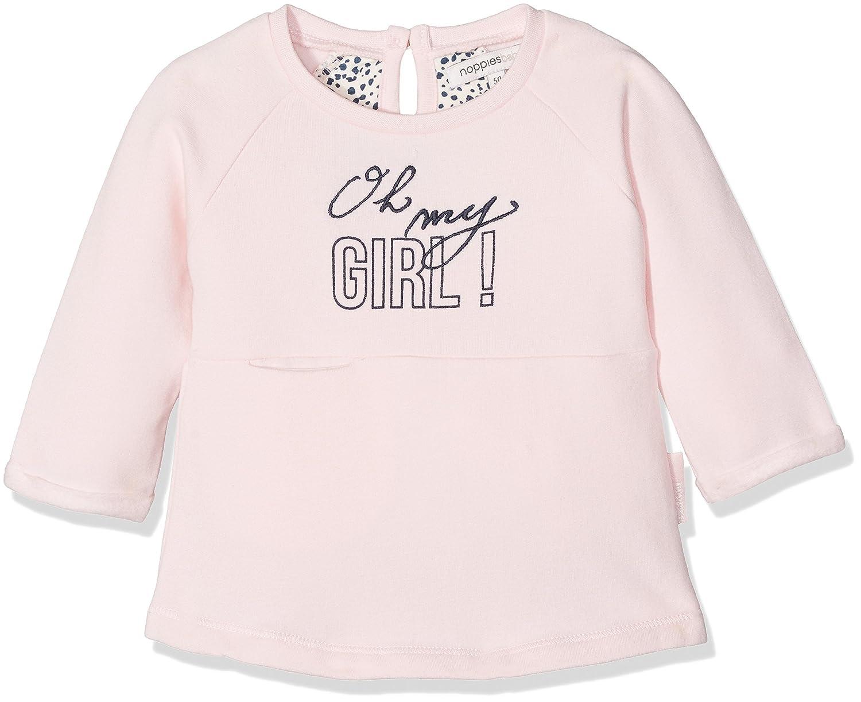 Noppies Baby-Mädchen Kleid G Dress Sweat Ls Gretna 74475