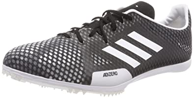 adidas Adizero Ambition 4, Chaussures d'Athlétisme Homme, Noir (Negbas/Ftwbla/Naalre 000), 48 EU