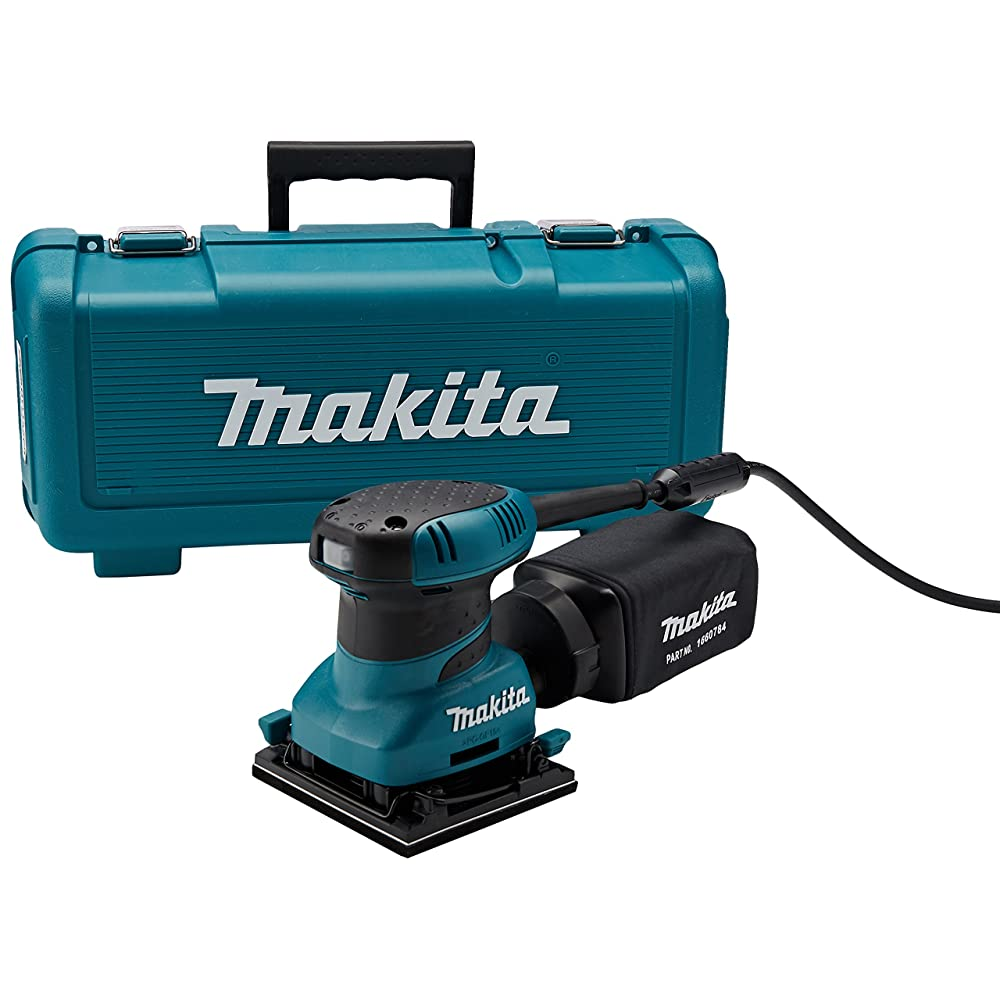 Makita BO4556K 2.0 Amp 4-1/2-Inch Finishing Sander with Case Review