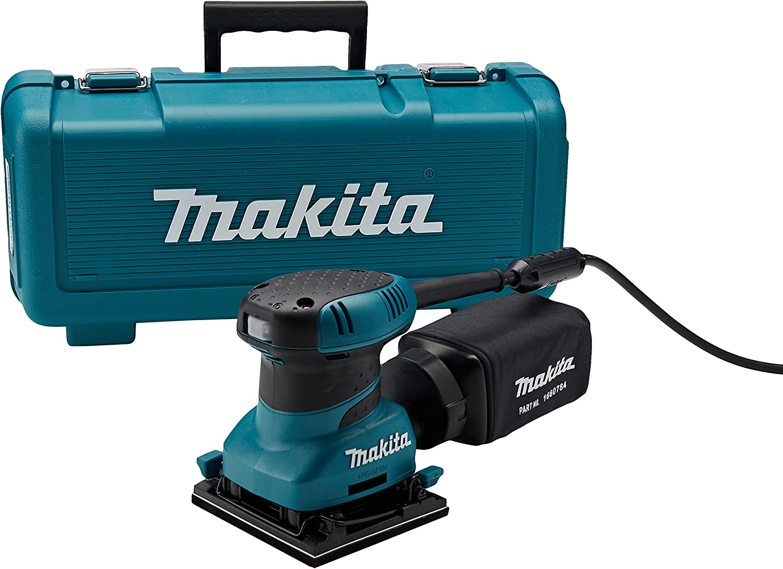 Makita BO4556K 2.0 Amp 4-1 2-Inch Finishing Sander with Case