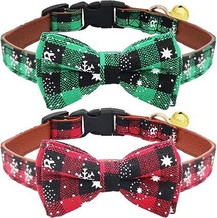 New Adjustable Christmas Dog Collar Red Bell Design Xmas Dog Cat Gift Accessory Pet Supplies Collars Ayianapatriathlon Com