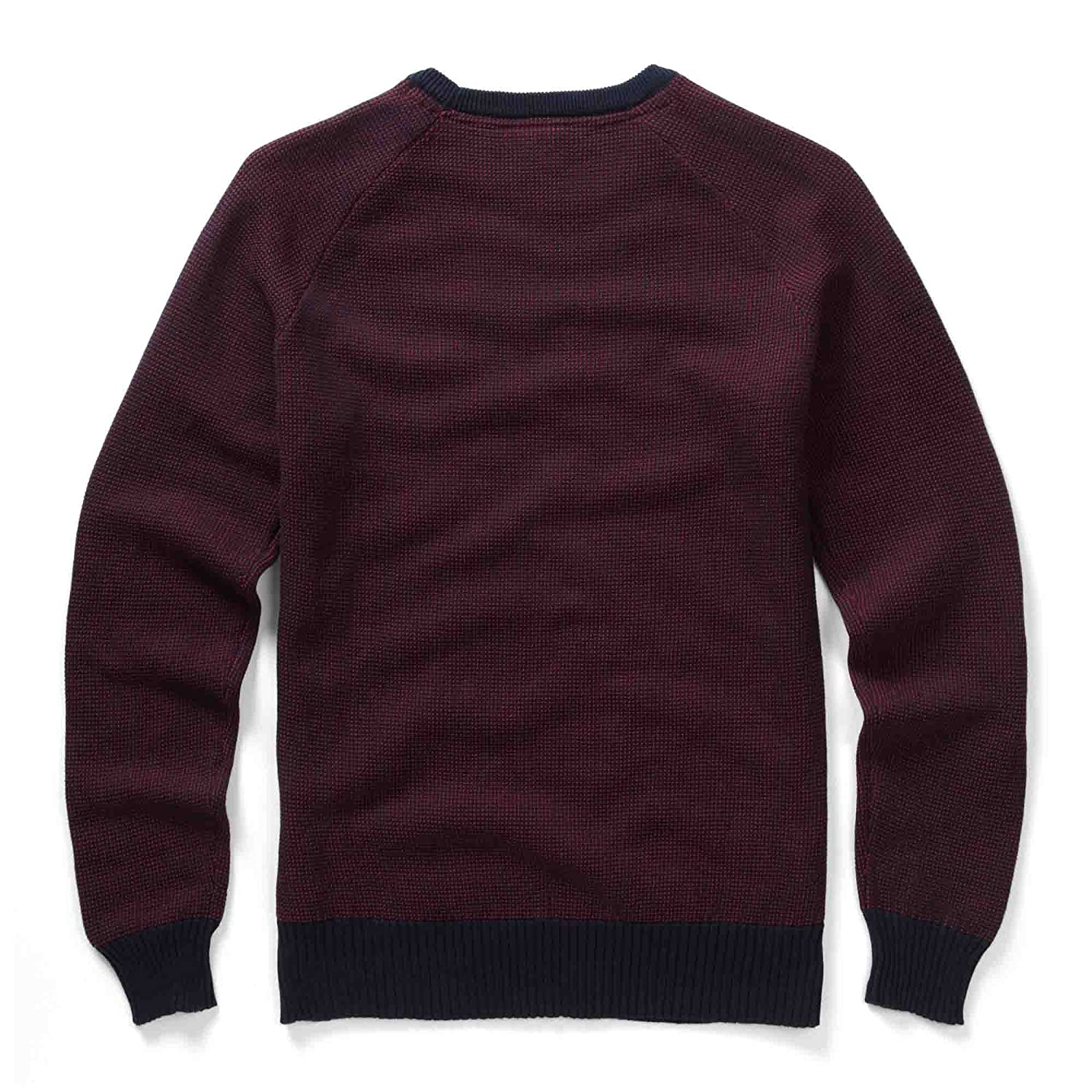 883 Police Holt Red Mens Pullover Knitwear Jumper Sweater Long Sleeve Crew Neck