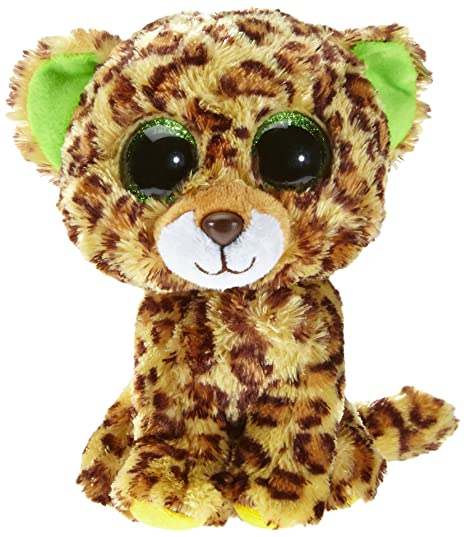Amazon.com  Ty Beanie Boos Speckles Plush - Leopard  Toys   Games 83a113f9cba