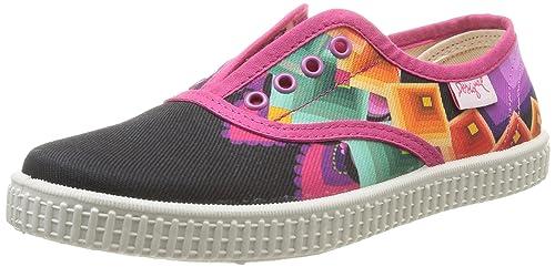 Desigual SHOES NANI - zapatilla deportiva de material sintético niña: Amazon.es: Zapatos y complementos