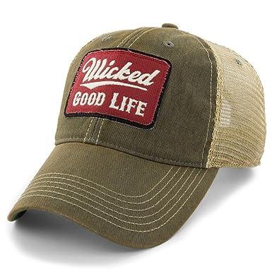 50e91c221b4 Chowdaheadz Wicked Good Life Dirty Water Mesh Trucker Hat ...