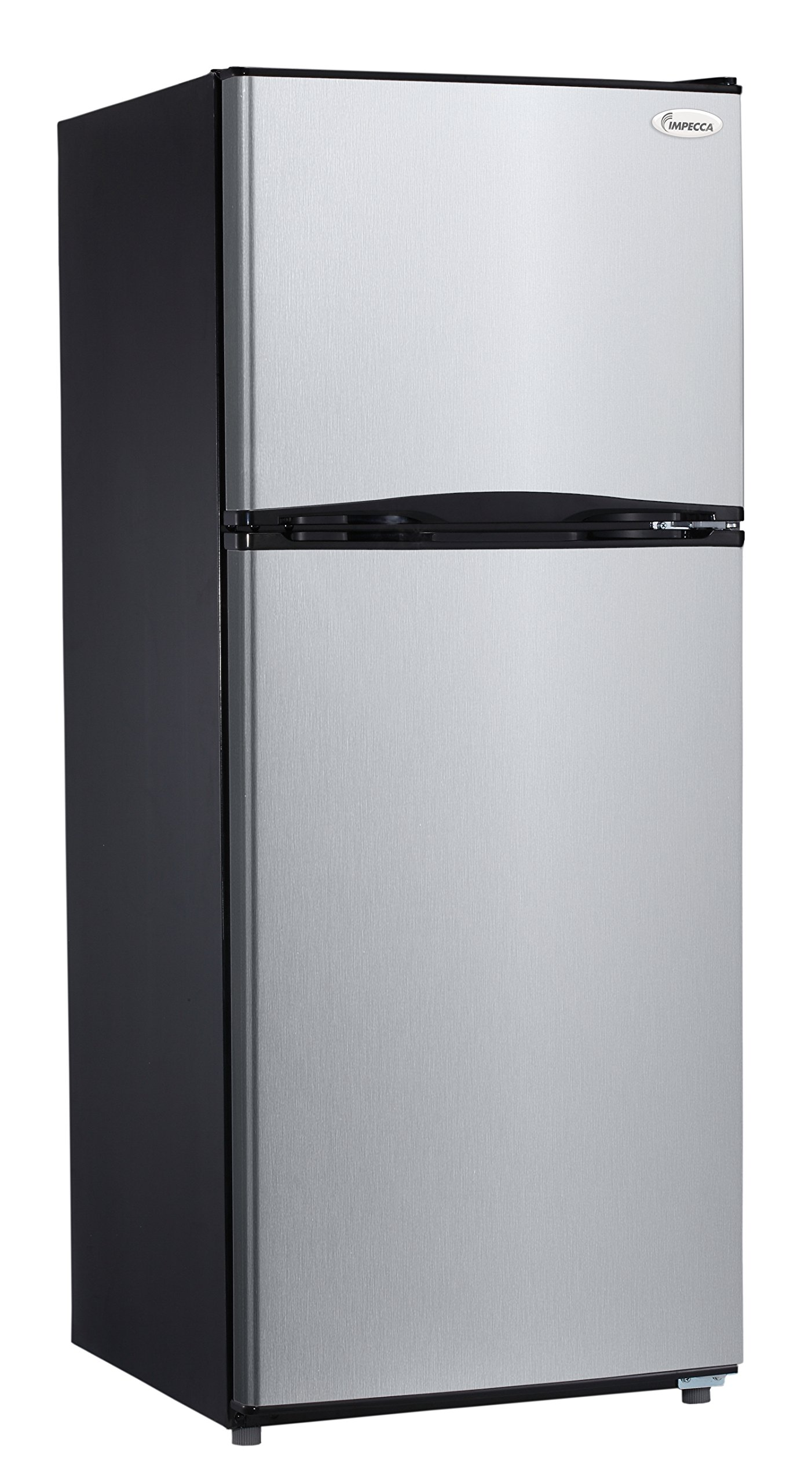 Impecca RA-2103ST Frost Free 9.9 cu.ft. Apartment Refrigerator with Top Mount Freezer, Stainless Steel