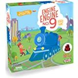 Engine, No. 9 Kids Board Game with 12 Toy Trains