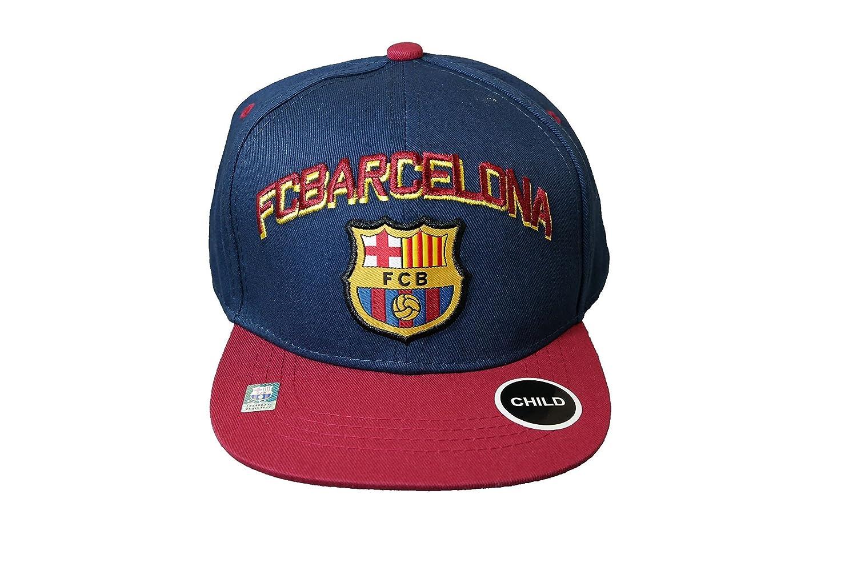 子FC Barcelona Authentic Official Licensedサッカーキャップ、FCB 1つサイズ-024   B018GYUXCG