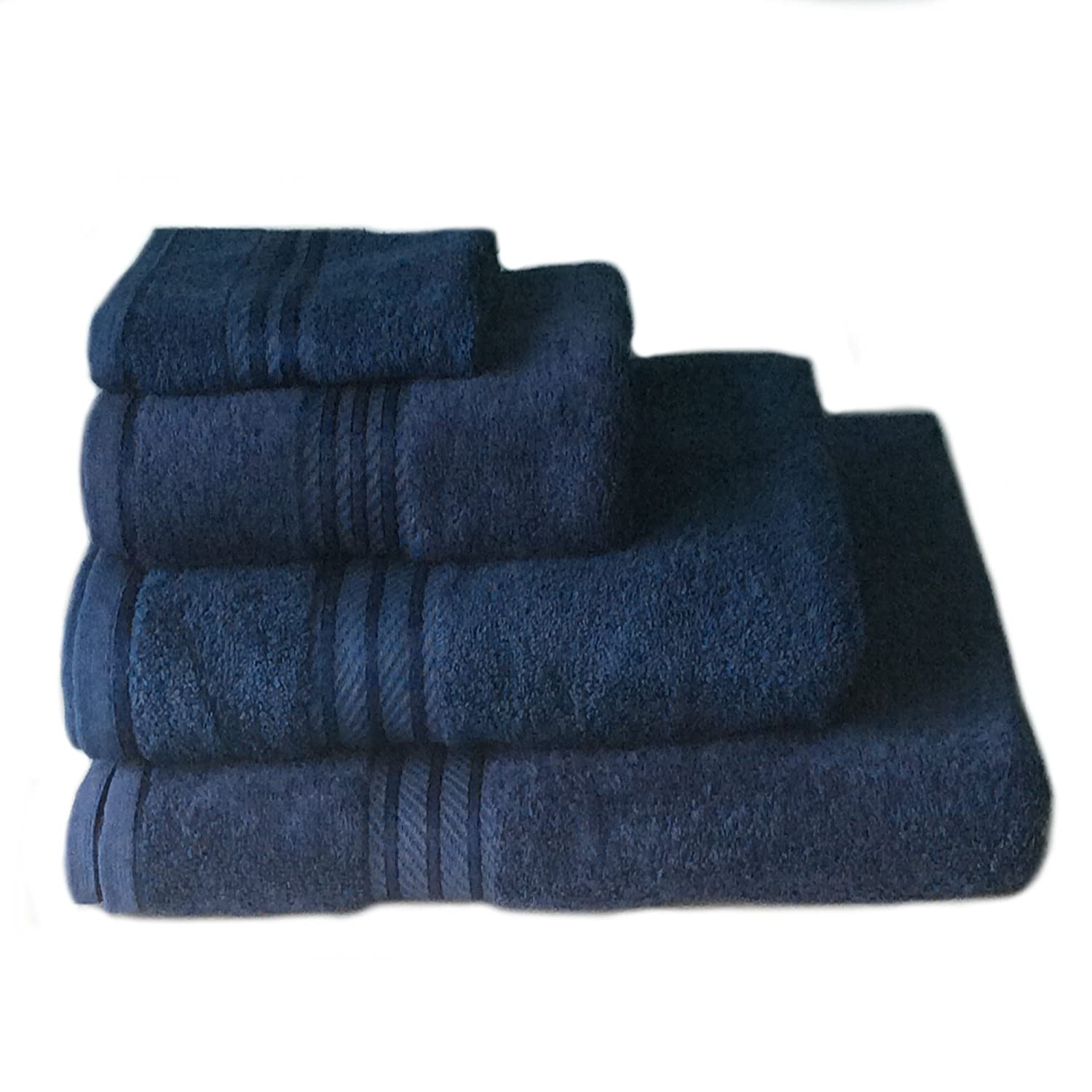 Sue Rossi Ltd Supreme 100% Egyptian Cotton Towels Navy Blue Bath Sheet