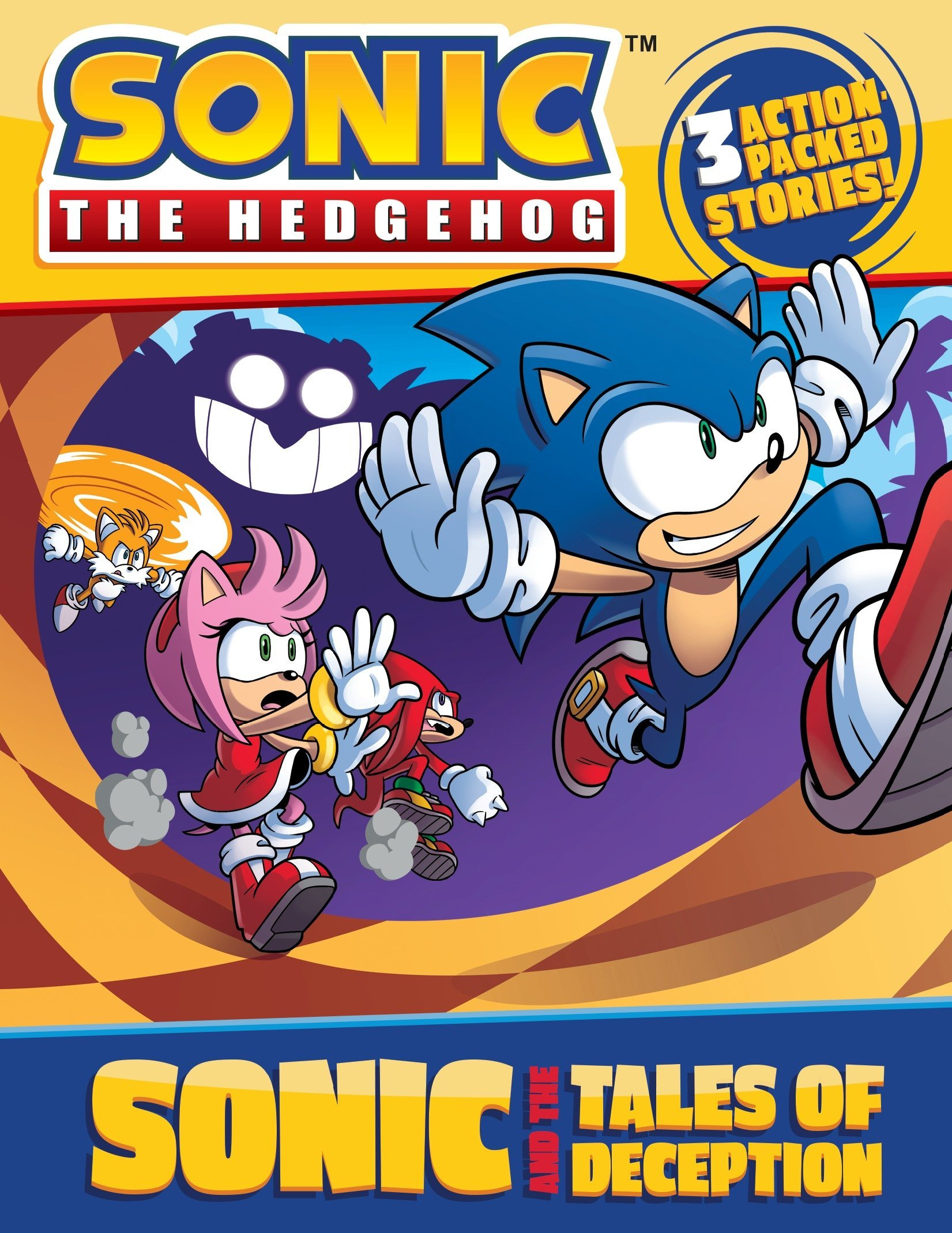 Amazon.com: Sonic and the Tales of Deception (Sonic the Hedgehog ...