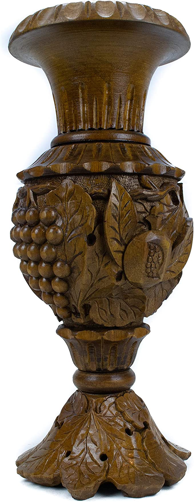Armenian Bowl Big handmade Walnut Wood Carved Bowl hand carved bowl wooden Candy dish Wooden vase fruit bowl wooden carved vase